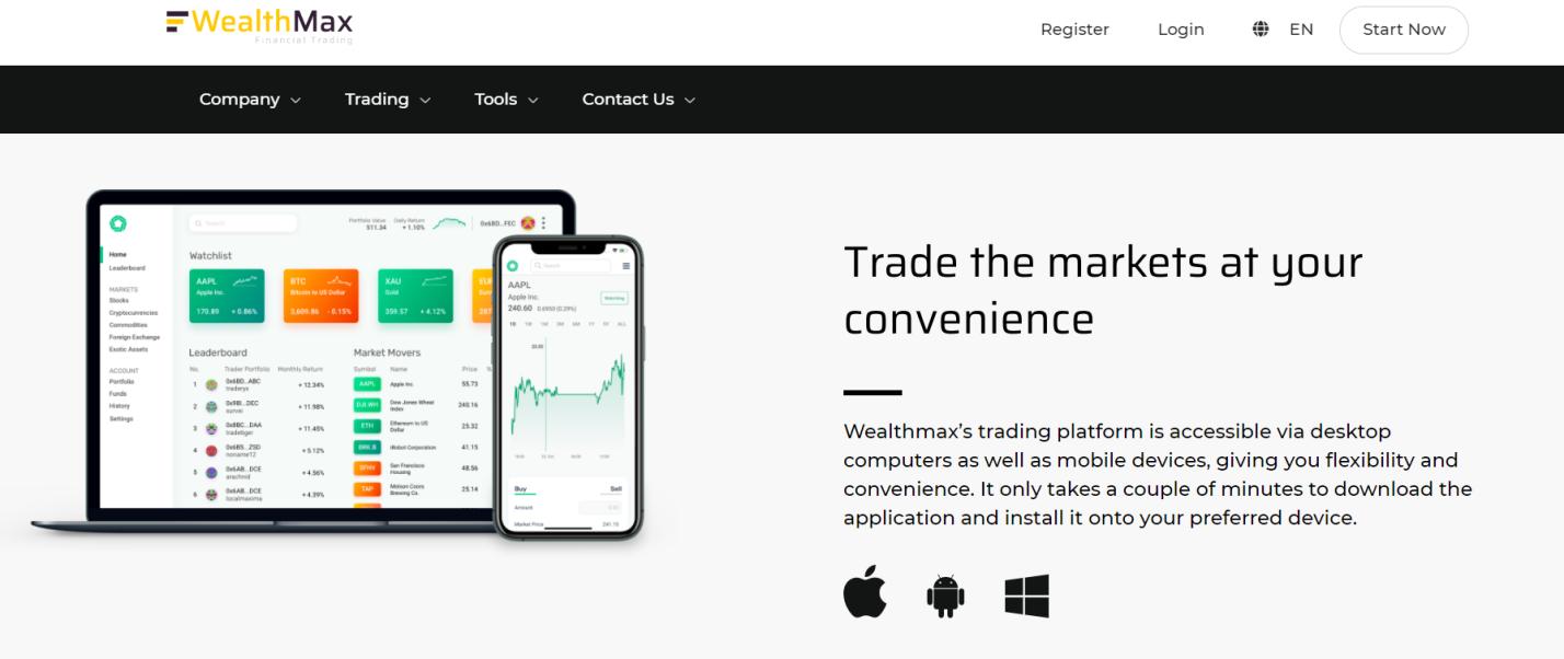 WealthMax – лохотрон, претендующий на звание лучшего брокера!