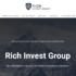 Лохотрон Rich Invest Group – обзор проекта и схема развода